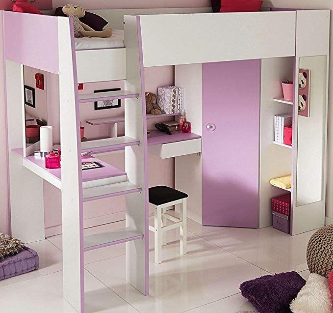 Parisot 2248lsur Set Mobel Kinderzimmer Mademoiselle Weiss