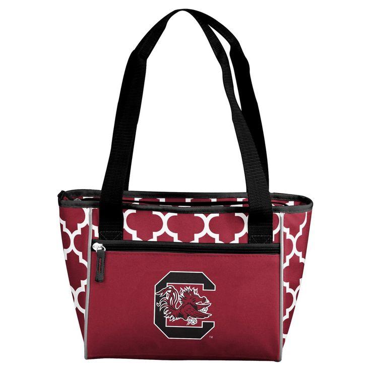 NCAA Logo Brands 16 Can Cooler Tote South Carolina Gamecocks