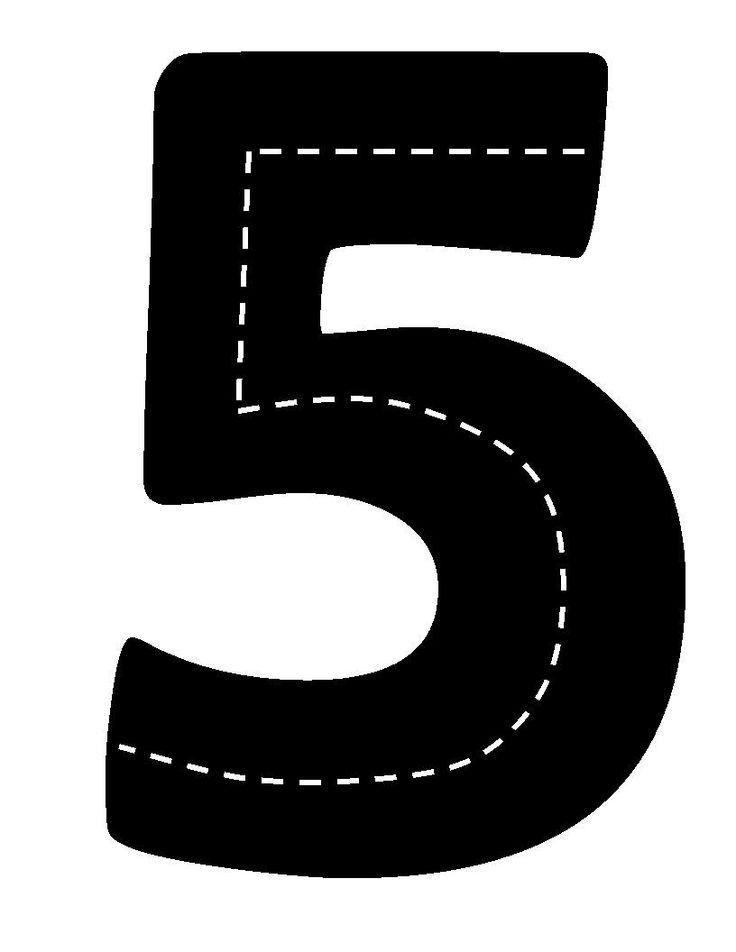 Verkeerscijfer 5