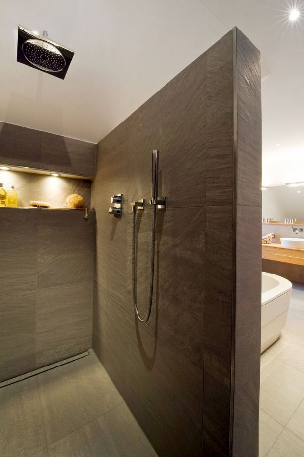 Bildergebnis für walk in dusche gemauert | Walk in dusche ...