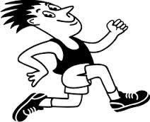 Výsledek obrázku pro sport obrázek běžec