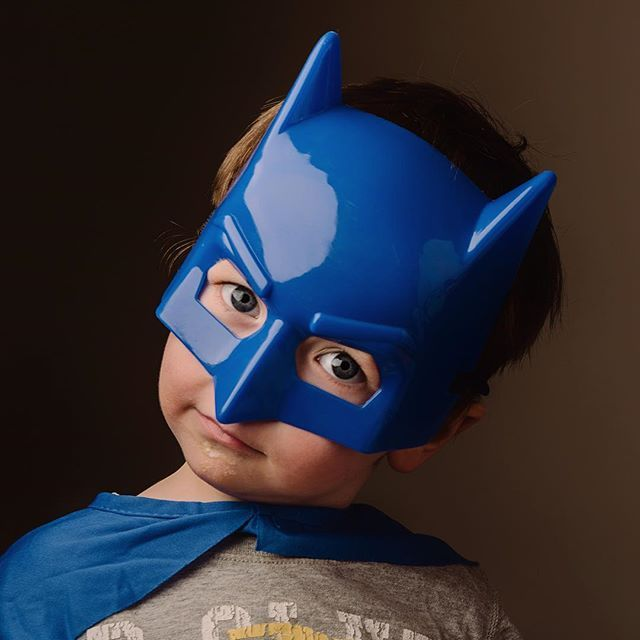 That look with that light! I'm now doing studio portrait sessions. #batman #weetbixonhisface