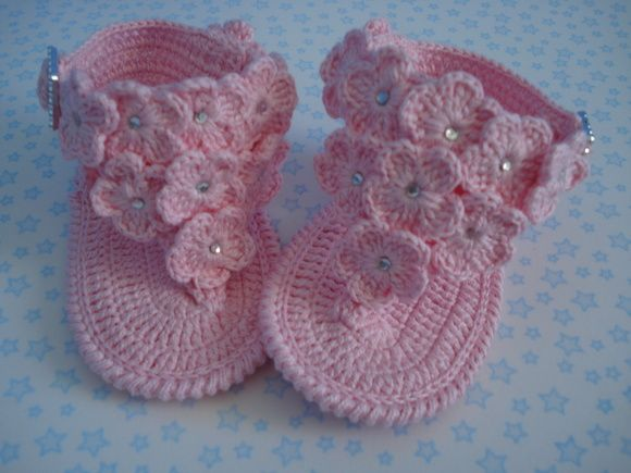 Cute idea for baby sandals