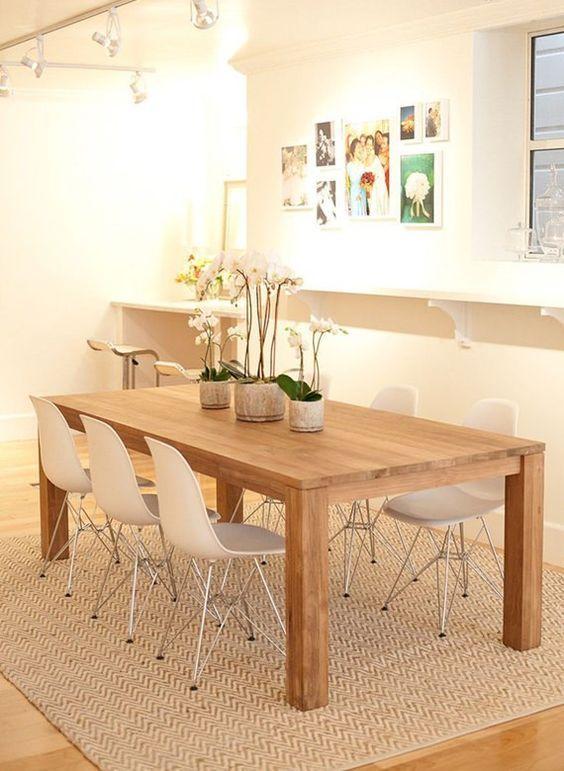 M s de 25 ideas incre bles sobre mesas comedor cuadradas - Mesas comedor cuadradas ...