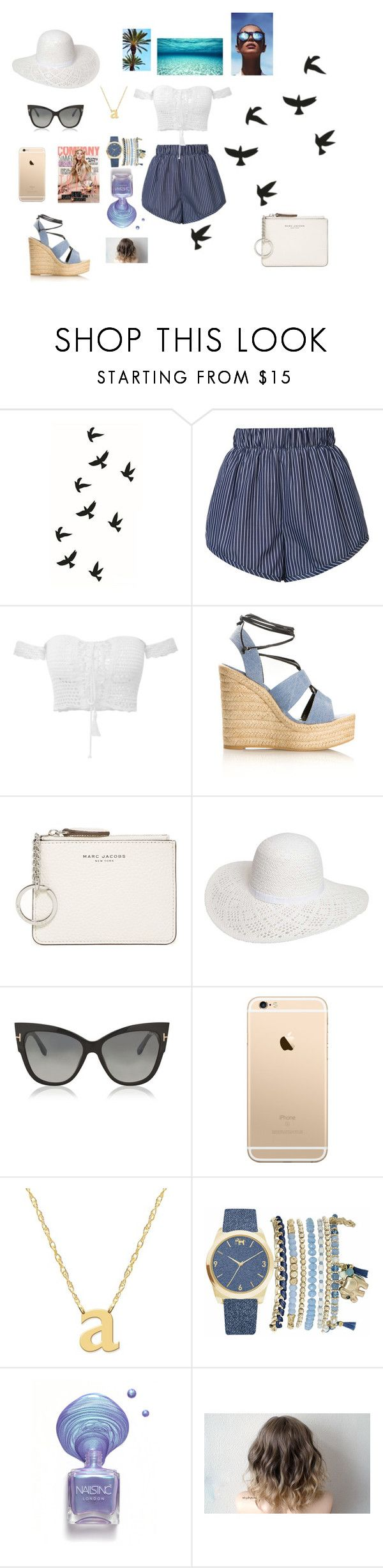 """Untitled #280"" by natalyholly on Polyvore featuring STELLA McCARTNEY, Yves Saint Laurent, Marc Jacobs, Dorothy Perkins, Tom Ford, Jane Basch, Mixit and Le Specs"