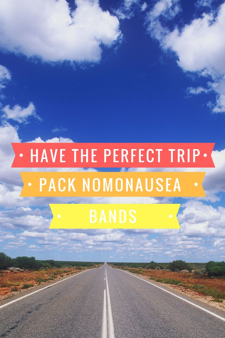 NoMo Nausea bands are perfect for ALL Thanksgiving Day travels. Thank you for no nausea!