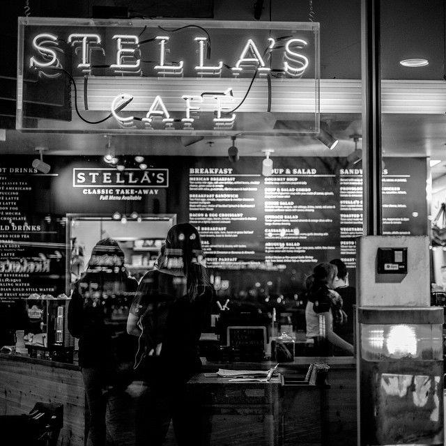 Stella's Cafe in Winnipeg, Manitoba. Photo by @rocvez on Instagram. #exploreMB | Travel Manitoba