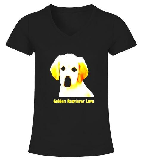 Golden Retriever Love Puppy Golden Retriever Shirt Golden Retriever