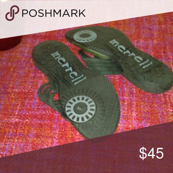 Ladies  Merrell sandals Black Merrell Merrell Shoes Sandals