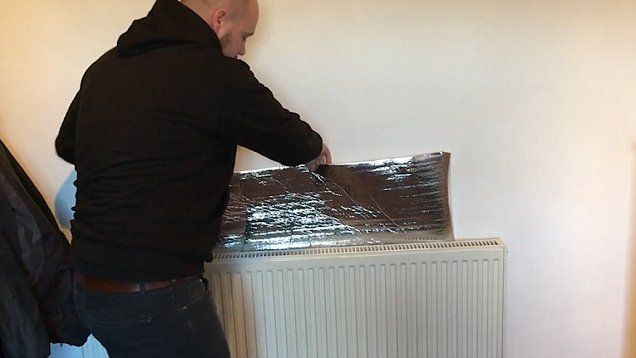You don't even need to buy specialist radiator foil and it could save you over £100 a year in heating bills.