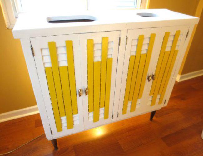 ingenious home recycling bin ideas. DIY Recycling Bins  5 You Can Make 269 best Green Living Bob Vila s Picks images on Pinterest