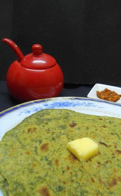 Spinach Paratha | Paratha Recipe - Babi 's Recipes