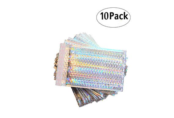 holographic bubble mailers 10
