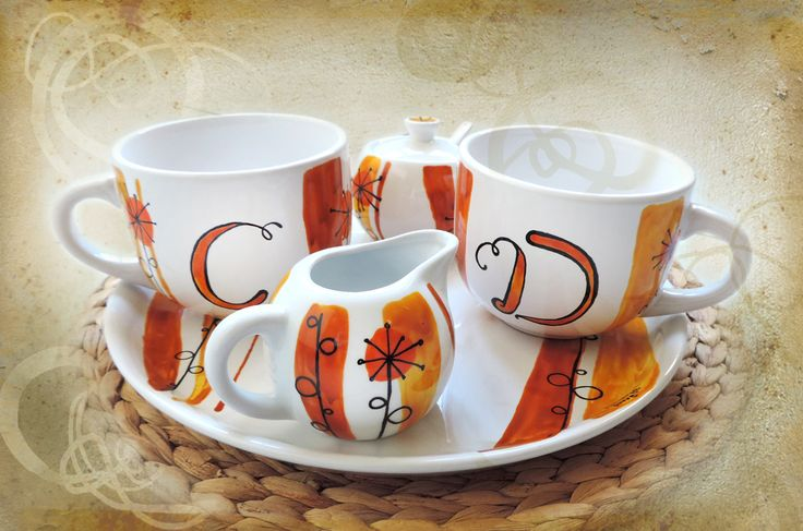 ceramica dipinta a mano, pezzi unici fatti con amore  SHOP ONLINE: Luciana-Torre-SHOP.dawanda.com