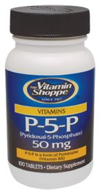 P-5-P (Pyridoxal-5-Phosphate) - Buy P-5-P (Pyridoxal-5-Phosphate) (50 MG) 100 Tablets at vitamin shoppe#MyVitaBox$12