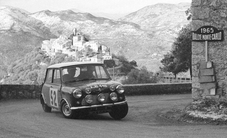 1965 Mini Cooper Monte Carlo Rally ed.