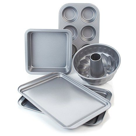Shop Wolfgang Puck Bistro Elite 5-piece Bakeware Set, read customer reviews and more at HSN.com.