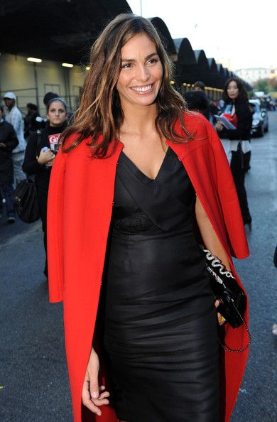 Ines Sastre Pictures Ines Sastre Arriving At Valentino Show During Paris Fashion Week -