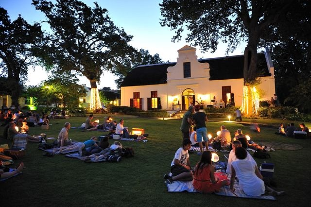 Carols by Candlelight at the @Holly Engstrom Hotel, South Africa. #Christmas #Africa