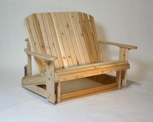 Adirondack Loveseat Glider Woodworking Projects Plans