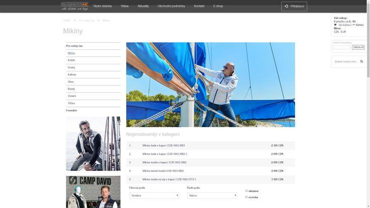 Nádherná šablona se svěžím nádechem, využívá AJAX technologii, ideální pro prodej módných produktů, kde máte krásné fotografie.    REF:  campdavidczech.cz ,   reviderm-cz.cz