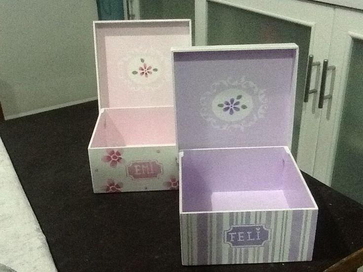 Cajas pintadas Ines Etcheberry