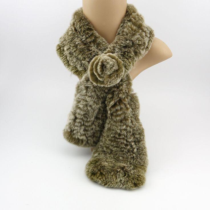 2015 новое прибытие Рекс кролика шарф женщины Теплая зима шарф женщин cachecol женщина для Реального кролика волосы зимой шарф бренд