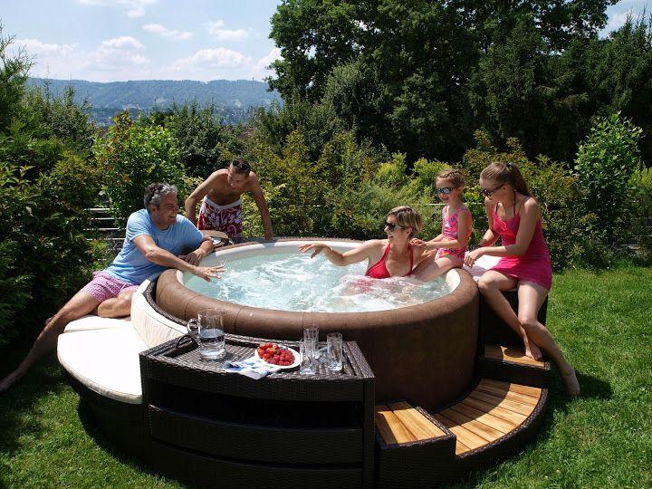 8 best Vířivka na zahradě images on Pinterest Garten, Decks and - whirlpool sichtschutz