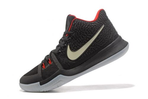 8a8a3e3714f35 Legit Cheap Glow in the Dark Nike Kyrie 3 Black Red Mens Basketball Shoes  For Sale - ishoesdesign