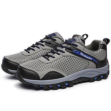 Черный+/+Синий+/+Коричневый+/+Серый-Мужской-Для+прогулок-Тюль-На+плоской+подошве-Удобная+обувь+–+RUB+p.+1+784,36
