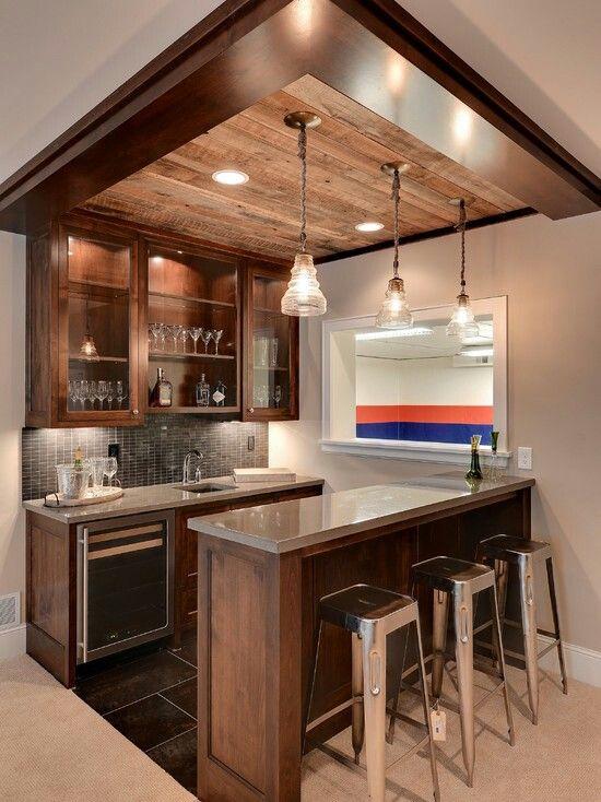home bar ideas basement