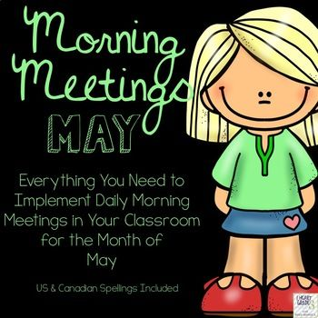Have you heard about Morning Meetings? Are you wanting to start but not sure how? You don't have the time to come up with the daily themes and activities? If you answered yes to any of these questions, then this is the perfect package for you! Morning Meetings are a great way to foster a sense of community in your primary classroom.