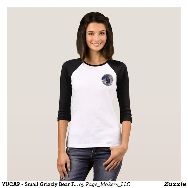 YUCAP - Small Grizzly Bear Front and Back T-Shirt - Fashionable Women's Shirts By Creative Talented Graphic Designers - #shirts #tshirts #fashion #apparel #clothes #clothing #design #designer #fashiondesigner #style #trends #bargain #sale #shopping - Comfy casual and loose fitting long-sleeve heavyweight shirt is stylish and warm addition to anyone's wardrobe - This design is made from 6.0 oz pre-shrunk 100% cotton it wears well on anyone - The garment is double-needle stitched at the bottom…