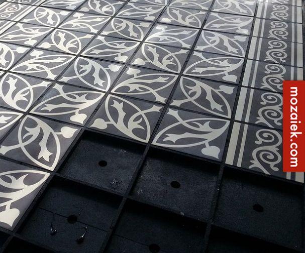 Mozaiek.com Utrecht – mediterrane balkonvloer met cementtegels-patroontegels | balkon of (dak)terras eenvoudig veranderen in stijlvolle vloer