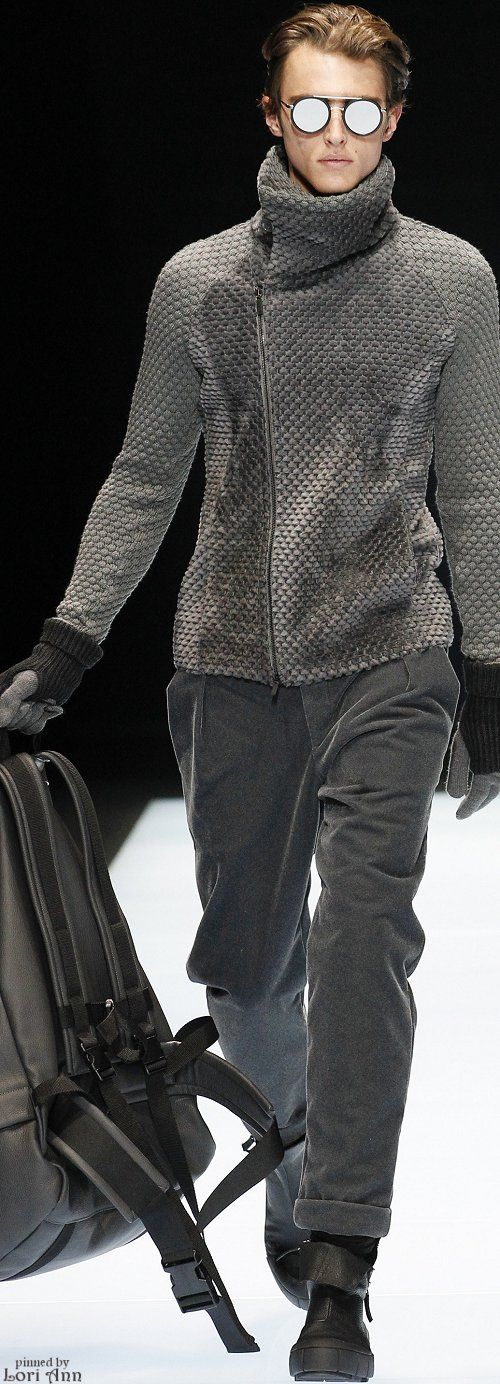 Emporio Armani Fall 2016 | Men's Fashion & Style | Shop Menswear, Men's Clothes, Men's Apparel & Accessories at designerclothingfans.com