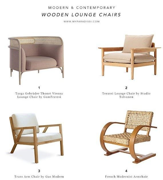 Wood Arm Chair Modern Off 73, Lounge Chairs With Wooden Arms
