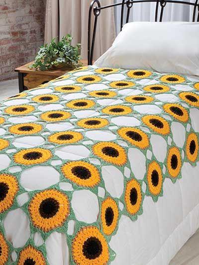 Crochet - Holiday & Seasonal Patterns - Summer Patterns - Helios Coverlet