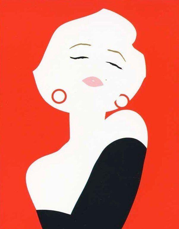 Della Costa - Marilyn. Un buen amigo tenía este cartel en su cuarto