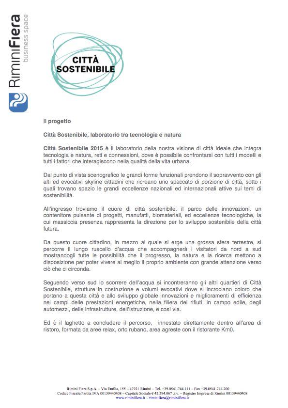 Il progetto di Città Sostenibile_1