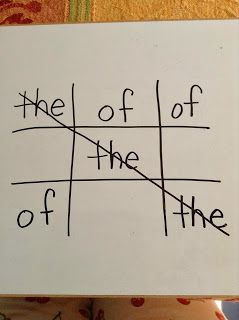 sight word tic tac toe have the kids say the word each time they write it