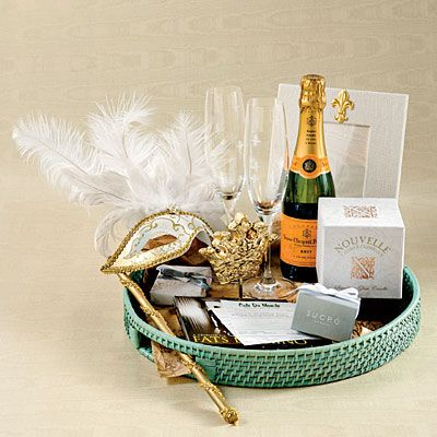 Wedding favor baskets