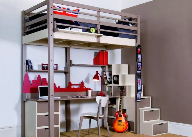 44 best Chambre d\u0027ados images on Pinterest Bedroom ideas, Kids - chambres a coucher conforama
