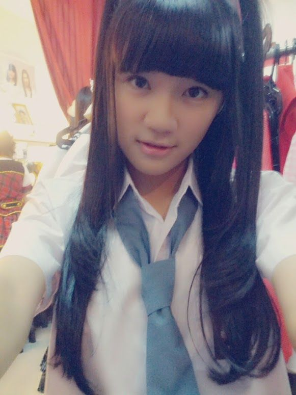 Cindy Christina Gulla (member of idol group JKT48) :D