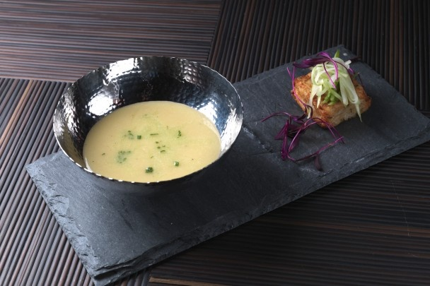 Celery Root and Asian Pear Soup DISTRICT Executive Chef Patricia ...