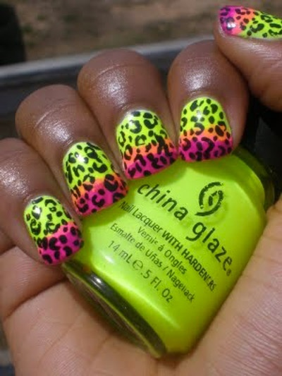 hot spring nail desighns | rhinestone nail designs | NailsShine.com