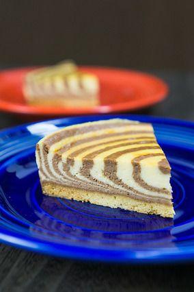 ゼブラチーズケーキ|レシピブログ