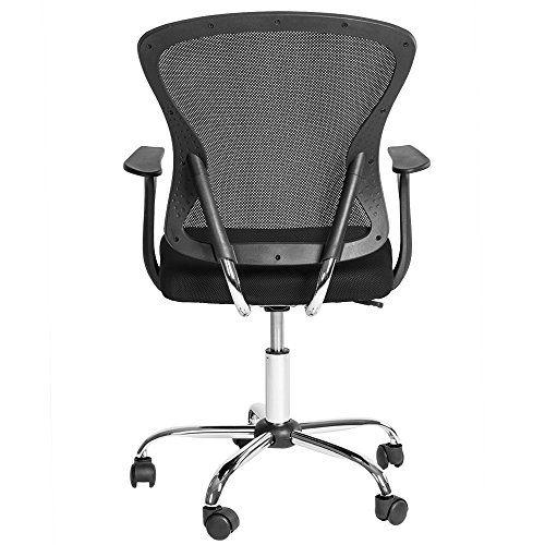 TecTake Silla de oficina giratoria sillón ejecutivo silla de escritorio negro tejid - http://vivahogar.net/oferta/tectake-silla-de-oficina-giratoria-sillon-ejecutivo-silla-de-escritorio-negro-tejid/ -
