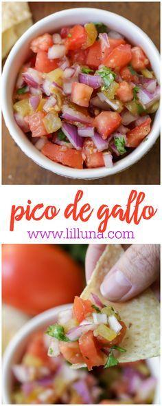 Everyone loves a good Pico De Gallo Recipe!