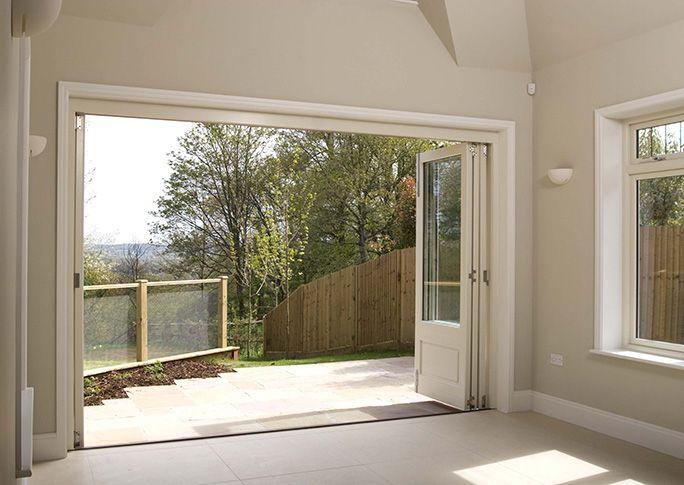 Best 25 folding patio doors ideas on pinterest bifold for Large folding patio doors
