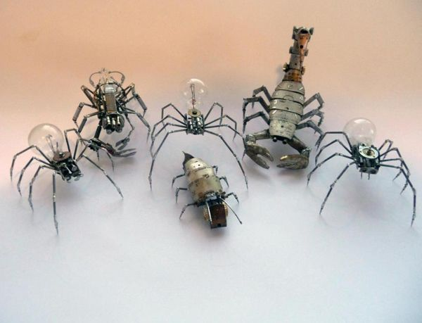 These are just amazingly intricate. Imagine if they were crawling around spying on us!!